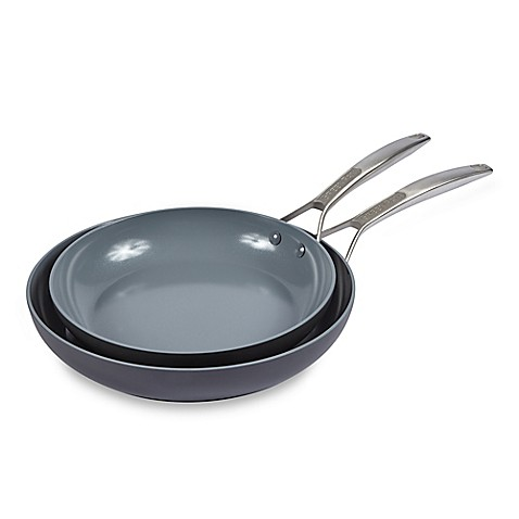 Greenpan Paris Ceramic Nonstick 10 Inch And 12 Inch Fry