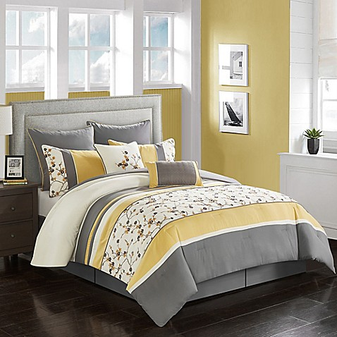 palma comforter set bed bath beyond. Black Bedroom Furniture Sets. Home Design Ideas