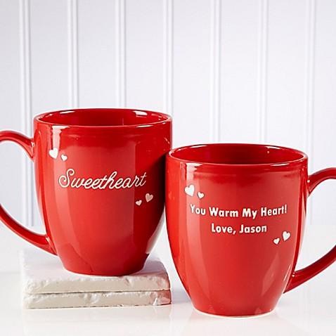 Loving Nickname 14.5 oz. Red Bistro Mug at Bed Bath & Beyond in Cypress, TX | Tuggl