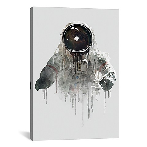 wall decor icanvas astronaut ll 60 inch x 40 inch canvas wall art from buy buy baby. Black Bedroom Furniture Sets. Home Design Ideas
