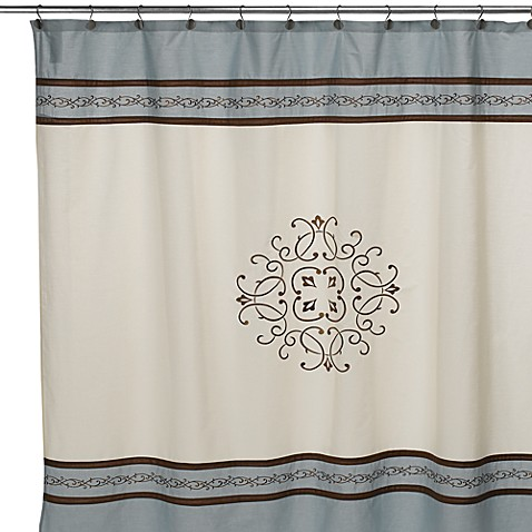 Buy Hotel Collection Landon 72 Inch X 96 Inch Fabric Shower Curtain From Bed Bath Beyond