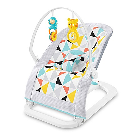 Fisher Price 174 Windmill Fold Flat Bouncer Buybuy Baby