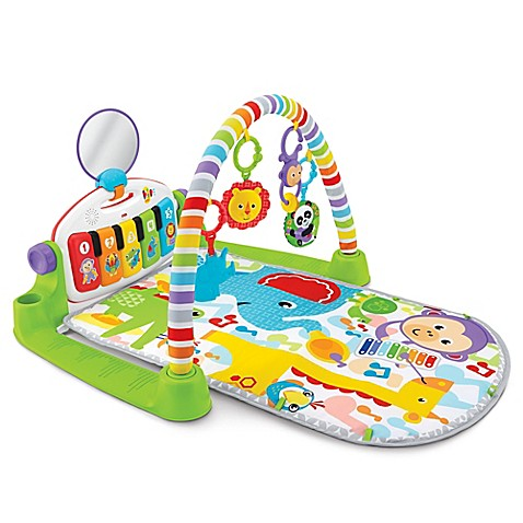 Play Gyms Gt Fisher Price 174 Deluxe Kick And Play Piano Gym