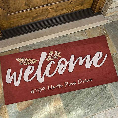 Cozy Home Door Mat at Bed Bath & Beyond in Cypress, TX   Tuggl