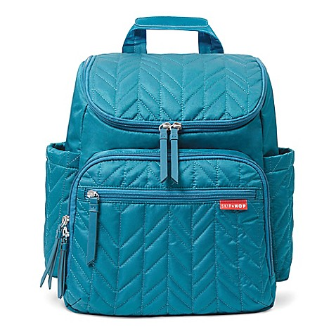 skip hop forma diaper backpack in indigo bed bath beyond. Black Bedroom Furniture Sets. Home Design Ideas