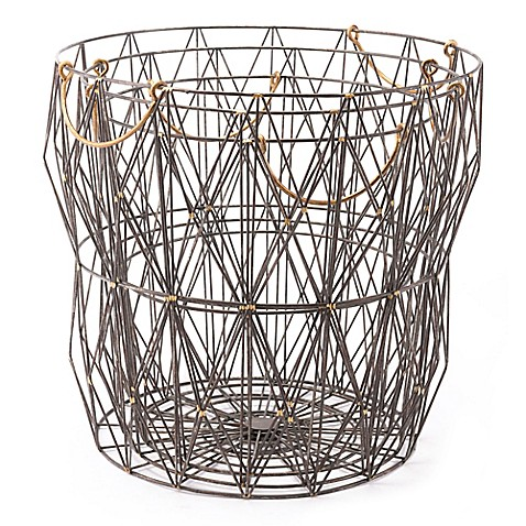 Zuo® Modern Antique Wire Storage Baskets (Set of 3) at Bed Bath & Beyond in Cypress, TX | Tuggl