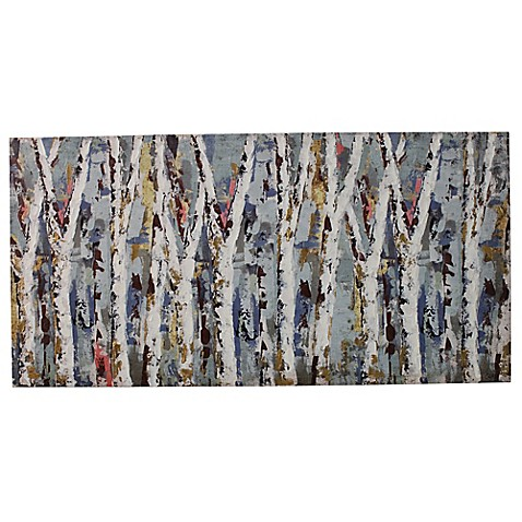 buy renwil maribel birch branches 30 inch x 60 inch canvas wall art from bed bath beyond. Black Bedroom Furniture Sets. Home Design Ideas