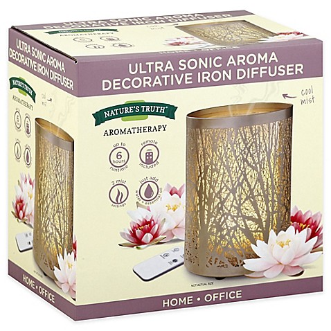 Natures Truth® Ultra Sonic Aroma Decorative Iron Diffuser at Bed Bath & Beyond in Cypress, TX | Tuggl