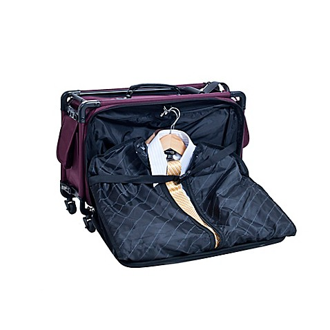 Tutto 22 Inch Carry On Suiter In Burgundy by Bed Bath And Beyond