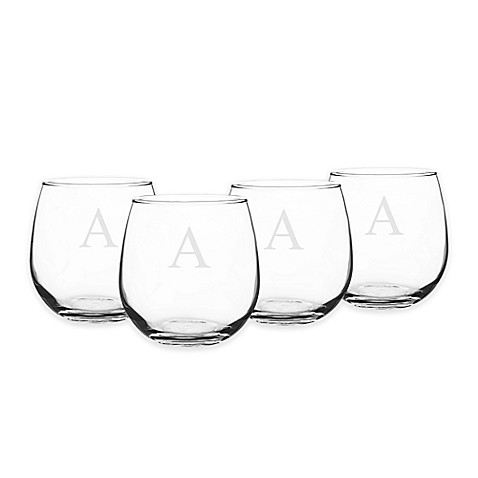 Cathy's Concepts Stemless Red Wine Glasses (Set of 4) at Bed Bath & Beyond in Cypress, TX | Tuggl