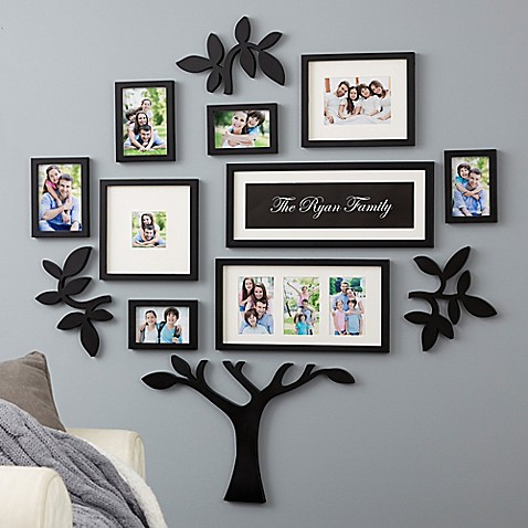 Wallverbs 13 Piece Quot Family Quot Tree Set In Black Buybuy Baby