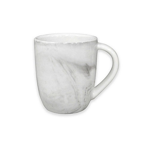 Artisanal Kitchen Supply® Coupe Marbleized Espresso Mugs in Grey (Set of 4) at Bed Bath & Beyond in Cypress, TX   Tuggl