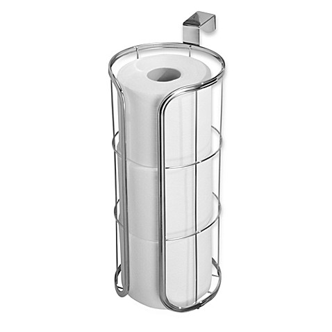 InterDesign® Over-the-Tank 3-Roll Tissue Holder