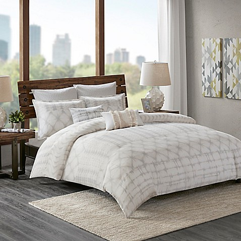 Ink+Ivy Fiji King Comforter Set In Marshmallow by Bed Bath And Beyond