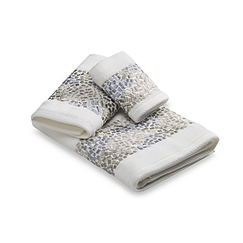 Croscill 174 Spa Tile Bath Towel Collection Bed Bath Amp Beyond
