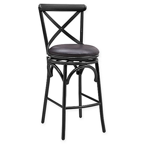 Buy Pulaski Distressed Antique Metal Swivel Bar Stool In