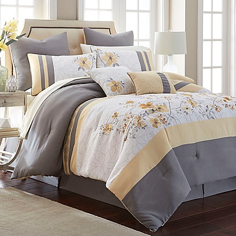 Janna 12-Piece Comforter Set at Bed Bath & Beyond in Cypress, TX | Tuggl