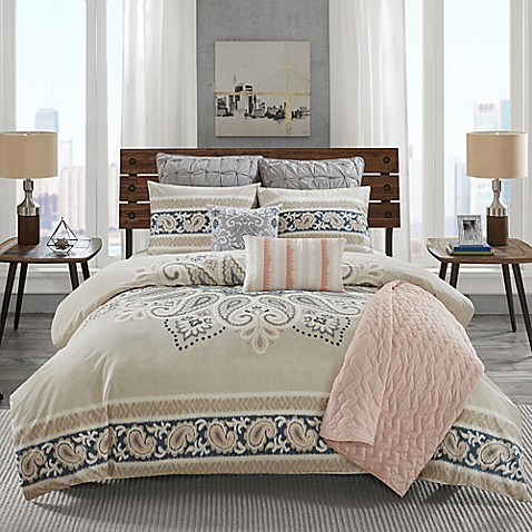 Ink+Ivy Sky Comforter Set by Bed Bath And Beyond