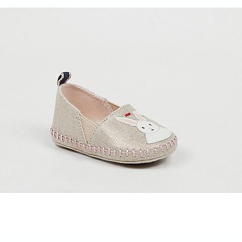 Ed Ellen Degeneres Baylen Bunny Applique Crib Shoes In