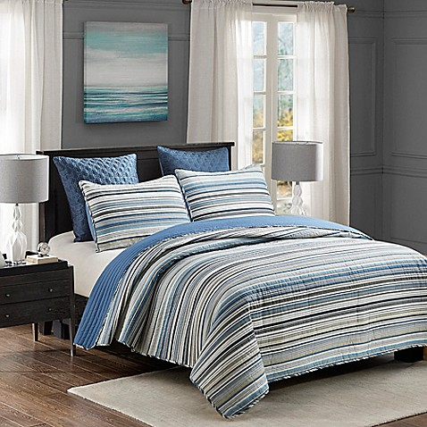 Cooper Reversible Quilt Set at Bed Bath & Beyond in Cypress, TX | Tuggl