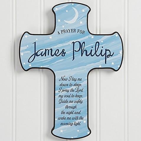 Bedtime Prayer Child's Cross at Bed Bath & Beyond in Cypress, TX | Tuggl
