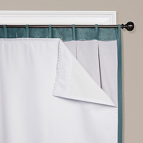 SmartBlock™ Rod Pocket Insulating Blackout Curtain Liner at Bed Bath & Beyond in Cypress, TX | Tuggl