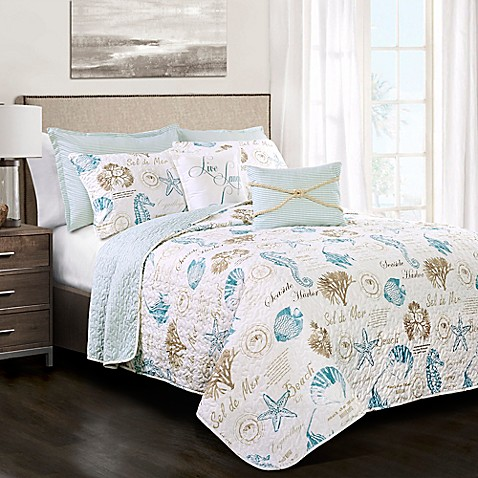 Lush Decor Harbor Life Reversible Quilt Set at Bed Bath & Beyond in Cypress, TX | Tuggl