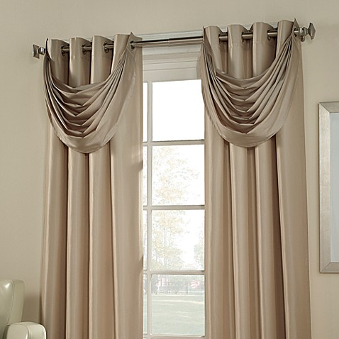 Buy Argentina Room Darkening Waterfall Valance From Bed Bath Beyond