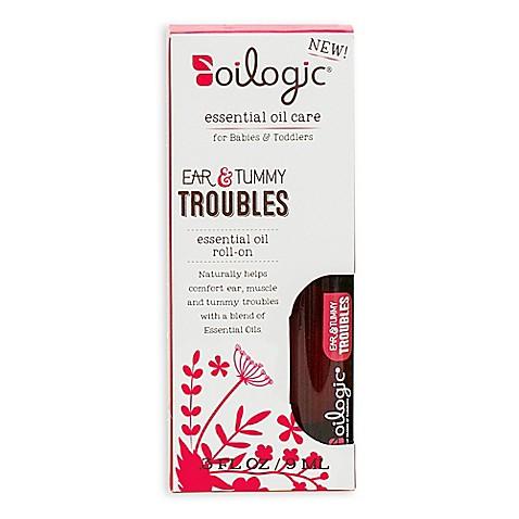 Oilogic® .3 fl. oz. Ear & Tummy Troubles Essential Oil Roll-On | Tuggl