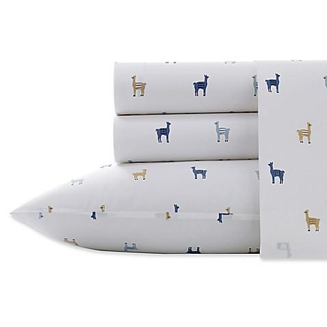 Poppy & Fritz® Lllamas Sheet Set at Bed Bath & Beyond in Cypress, TX   Tuggl