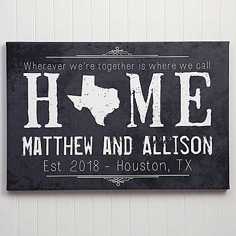 State of Love Canvas Wall Art at Bed Bath & Beyond in Cypress, TX | Tuggl