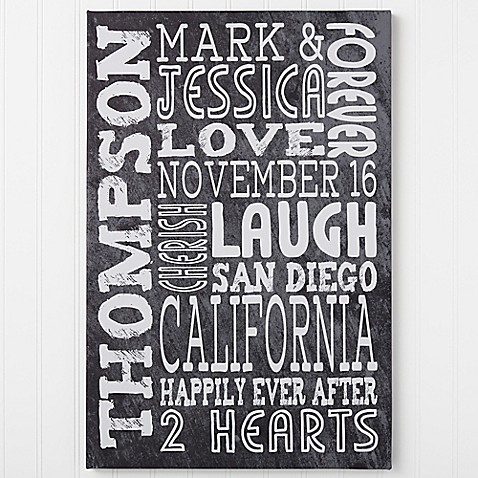 Just Us Canvas Wall Art at Bed Bath & Beyond in Cypress, TX | Tuggl