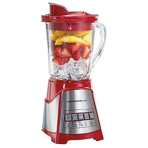 Hamilton Beach® ensemble™ Multi-Function Blender in Red at Bed Bath & Beyond in Cypress, TX | Tuggl