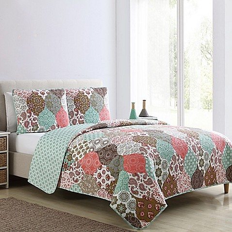 VCNY Home Wonderland Reversible Quilt Set at Bed Bath & Beyond in Cypress, TX | Tuggl