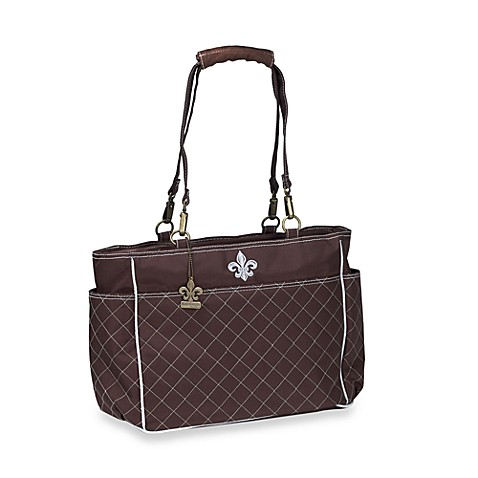 Kalencom N'Orleans Diaper Bag in ChocolateBlue