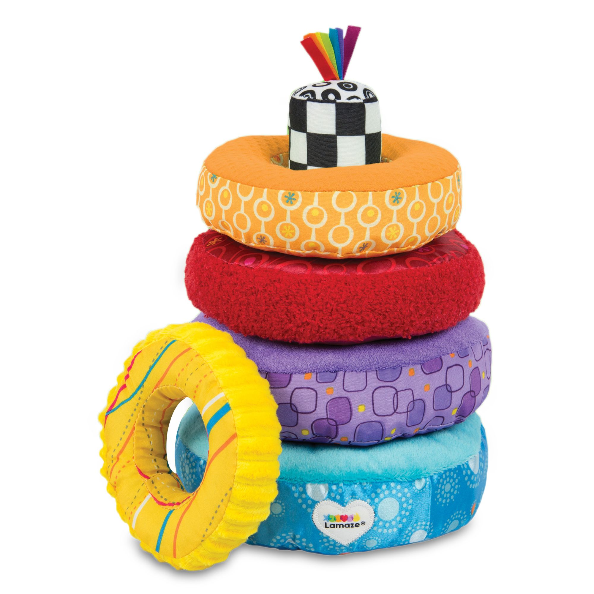 Lamaze® Rainbow Stacking Rings