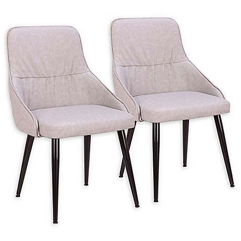Lumisource™ Faux Leather Upholstered Dining Chairs (Set of 2) at Bed Bath & Beyond in Cypress, TX   Tuggl