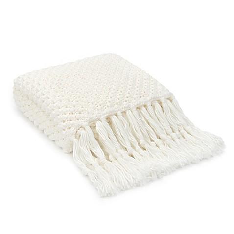 UGG® Poppy Throw Blanket in Snow   Tuggl