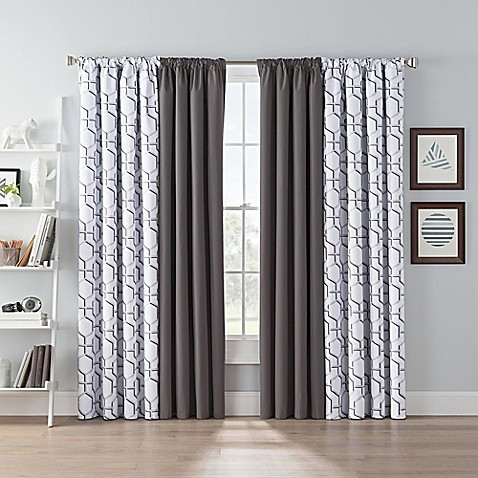 SmartBlock™ Chroma Blackout Window Curtain Panel | Tuggl