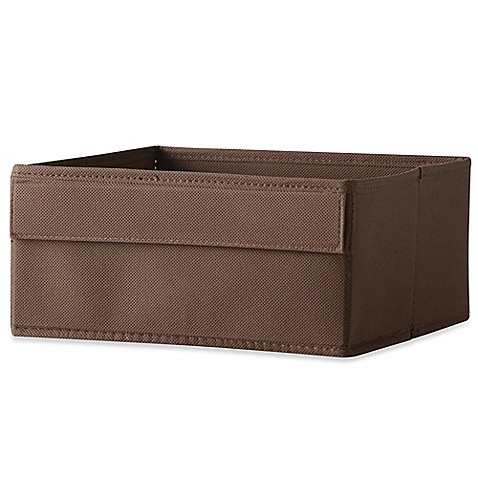 Real Simple 174 Half Height Fabric Drawer In Espresso Bed
