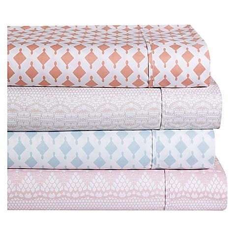 Ellen Tracy Lace Print Sheet Set at Bed Bath & Beyond in Cypress, TX   Tuggl