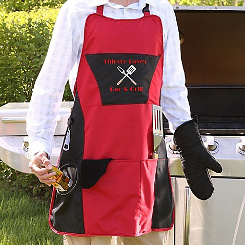 Grill Master 4-Piece Apron at Bed Bath & Beyond in Cypress, TX   Tuggl