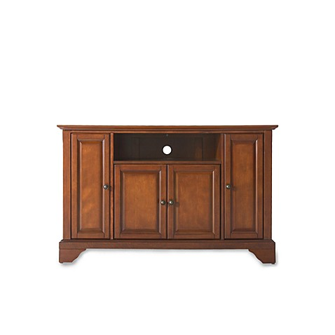 Buy Crosley Lafayette 48 Inch Tv Stand In Cherry From Bed Bath Beyond