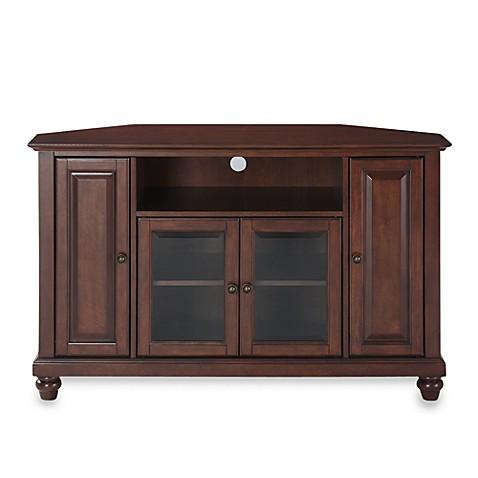 crosley cambridge 48 inch corner tv stand bed bath beyond. Black Bedroom Furniture Sets. Home Design Ideas