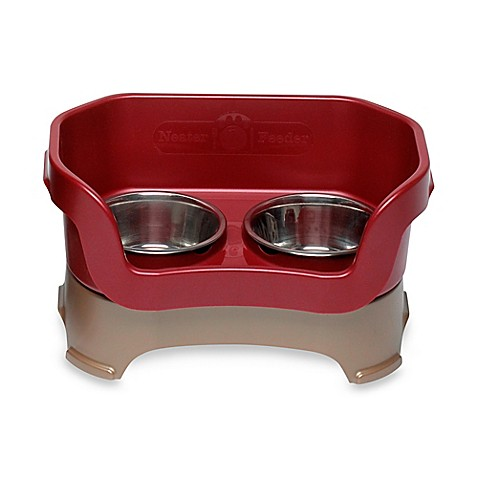 Neater Feeder 174 Cranberry Mess Proof Pet Bowl Bed Bath