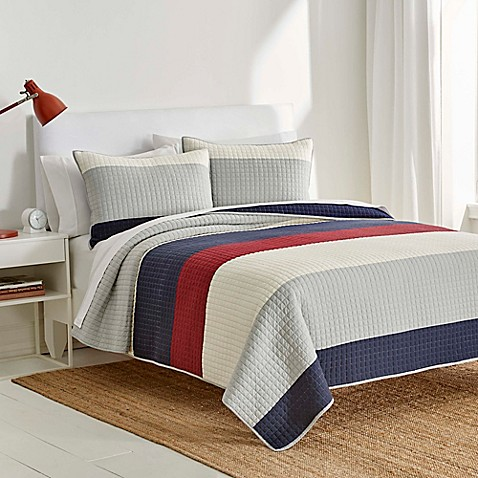 IZOD® Highlands Reversible Quilt at Bed Bath & Beyond in Cypress, TX | Tuggl