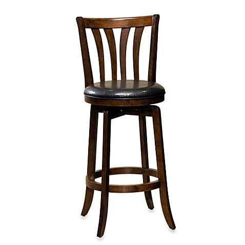 Hillsdale Savana Swivel Stool In Cherry Bed Bath Amp Beyond