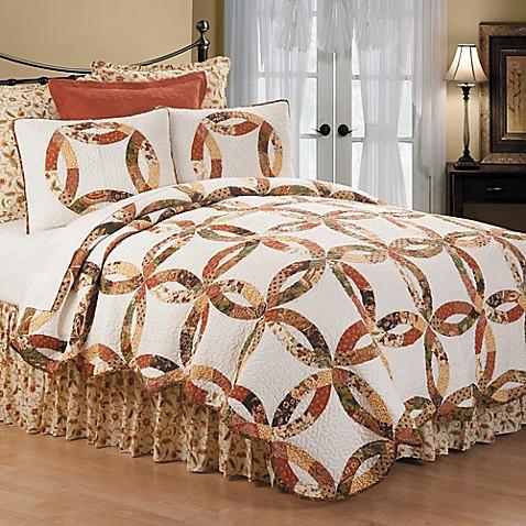 Aurelia Wedding Ring Reversible Quilt Set Bed Bath Amp Beyond