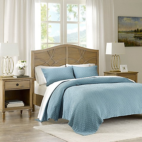 Madison Park Signature Valencia Matelassé Coverlet Set at Bed Bath & Beyond in Cypress, TX | Tuggl