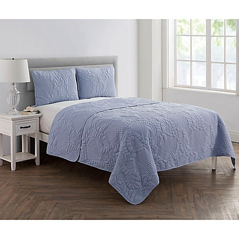 VCNY Home Pinsonic Shells Quilt Set at Bed Bath & Beyond in Cypress, TX | Tuggl